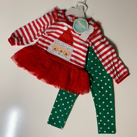 NWT Girls 24 month Christmas Outfit by Nannette